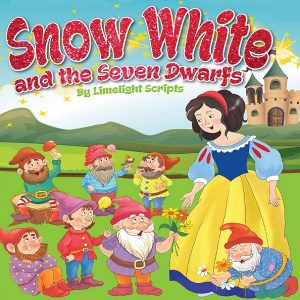 Poster for a Snow White pantomime